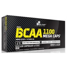 BCAA mega caps 1100, 120caps
