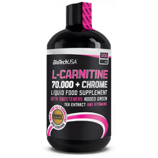 L-carnitine 70.000 mg + Chrome Liquid, 500мл