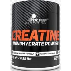 Creatine monohydrate powder, 250 g