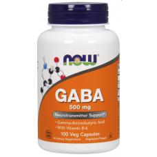 GABA 500 mg, 100 veg caps