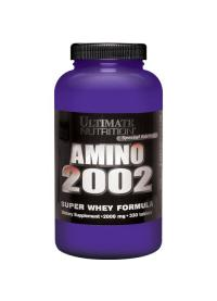 ultimate nutrition amino 2002, 330 таб