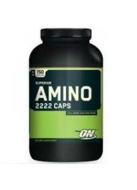 optimum nutrition amino 2222 caps, 150 капс.