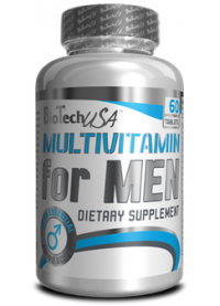 biotech multivitamin for men, 60 таб.