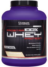 ultimate nutrition prostar whey protein, 2.39kg