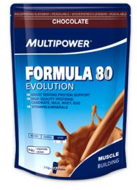 multipower formula 80 evolution, 510 гр.
