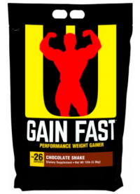 universal nutrition gain fast 3100, 4500g