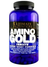 ultimate nutrition amino gold tablets 1500 mg - 325 таб