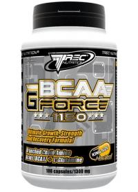 trec nutrition bcaa g force, 360 капc
