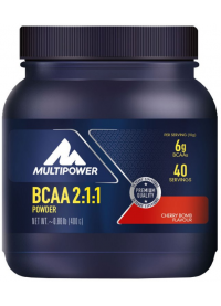 multipower bcaa 2:1:1 powder, 400g