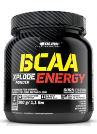 olimp labs bcaa xplode energy, 500g