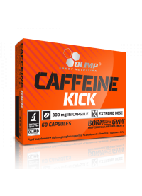 olimp labs caffeine kick, 60caps