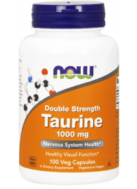 now taurine 1000 mg, 100 veg caps
