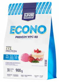 uns supplements econo premium wpc 80, 900g